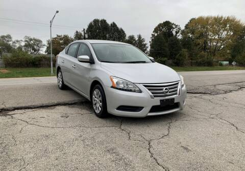2015 Nissan Sentra for sale at InstaCar LLC in Independence MO
