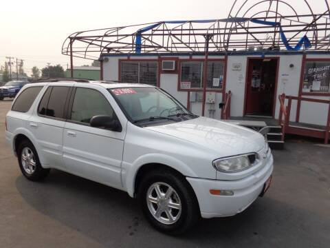 2002 Oldsmobile Bravada for sale at Jim's Cars by Priced-Rite Auto Sales in Missoula MT