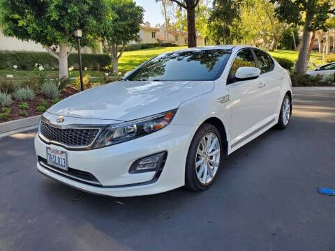 2014 Kia Optima Hybrid for sale at E MOTORCARS in Fullerton CA