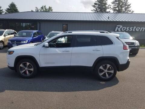 2019 Jeep Cherokee for sale at ROSSTEN AUTO SALES in Grand Forks ND