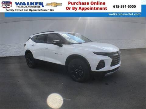 2021 Chevrolet Blazer for sale at WALKER CHEVROLET in Franklin TN