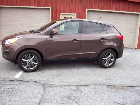 2015 Hyundai Tucson for sale at Clift Auto Sales in Annville PA
