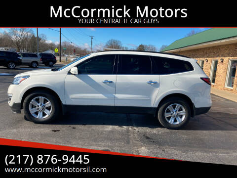 2013 Chevrolet Traverse for sale at McCormick Motors in Decatur IL