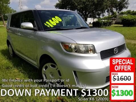 2009 Scion xB for sale at AUTO COLLECTION OF SOUTH MIAMI in Miami FL