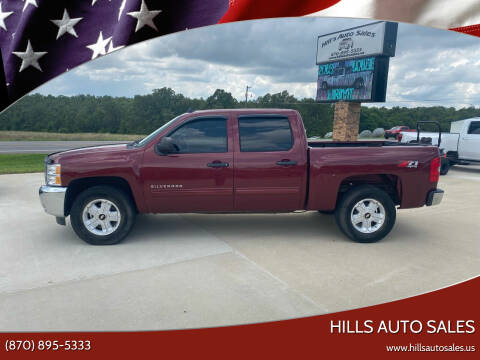 2013 Chevrolet Silverado 1500 for sale at Hills Auto Sales in Salem AR