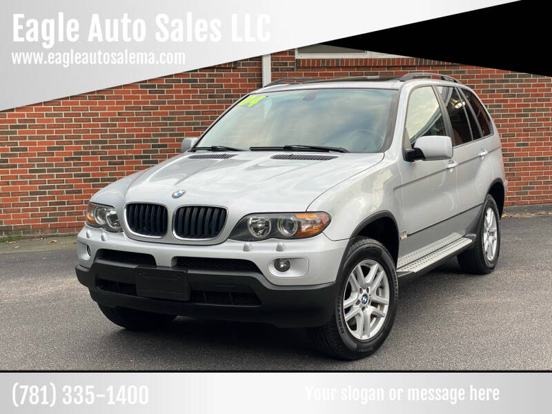 2004 BMW X5 for sale at Eagle Auto Sales LLC in Holbrook MA