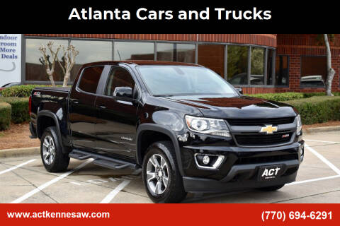 2015 Chevrolet Colorado for sale at Atlanta Cars and Trucks in Kennesaw GA