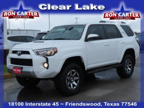 2017 Toyota 4Runner for sale at Ron Carter  Clear Lake Used Cars in Houston TX