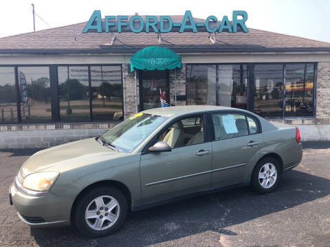 2005 Chevrolet Malibu for sale at Afford-A-Car in Moraine OH