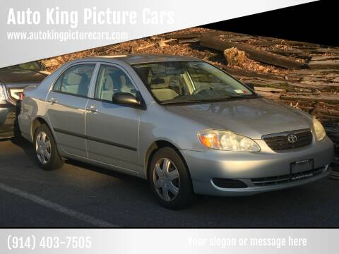 2006 Toyota Corolla for sale at Auto King Picture Cars in Westchester County NY