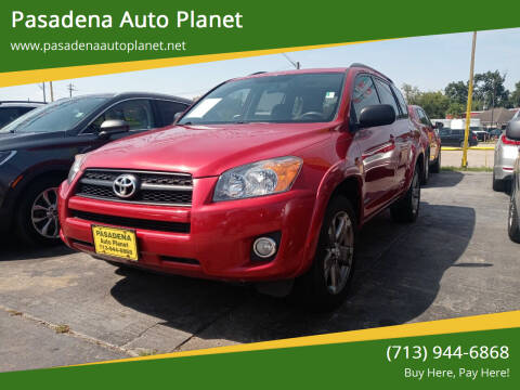 2012 Toyota RAV4 for sale at Pasadena Auto Planet in Houston TX