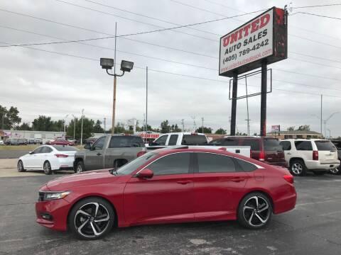 2018 Honda Accord for sale at United Auto Sales in Oklahoma City OK