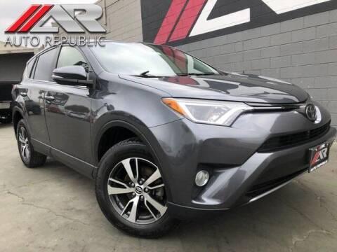 2018 Toyota RAV4 for sale at Auto Republic Fullerton in Fullerton CA