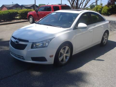 2013 Chevrolet Cruze for sale at Uniworld Auto Sales LLC. in Greensboro NC