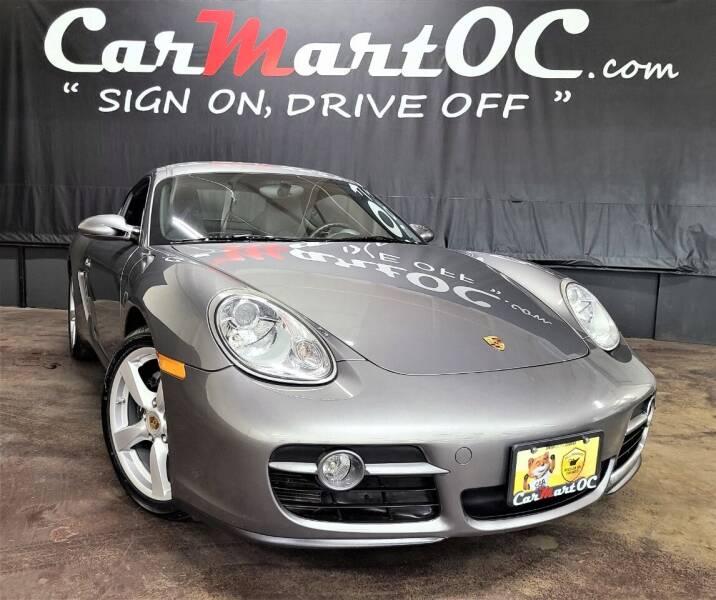 2008 Porsche Cayman for sale at CarMart OC in Costa Mesa, Orange County CA