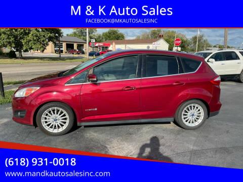2013 Ford C-MAX Hybrid for sale at M & K Auto Sales in Granite City IL