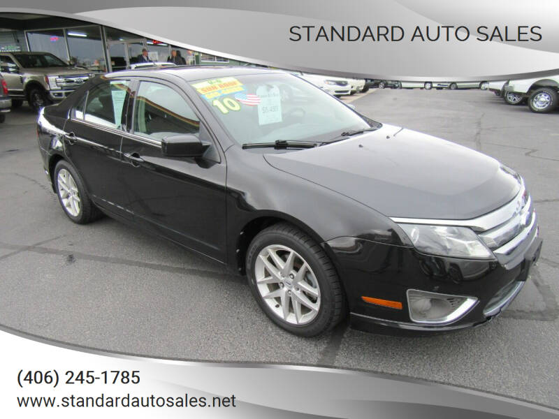 2010 Ford Fusion for sale at Standard Auto Sales in Billings MT