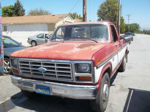 1985 Ford F-250 for sale at Top Notch Auto Sales in San Jose CA