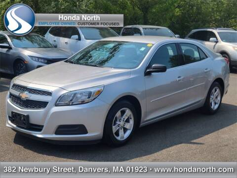 2013 Chevrolet Malibu for sale at 1 North Preowned in Danvers MA