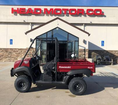 2021 Kawasaki Mule 4010 4x4 for sale at Head Motor Company - Head Indian Motorcycle in Columbia MO