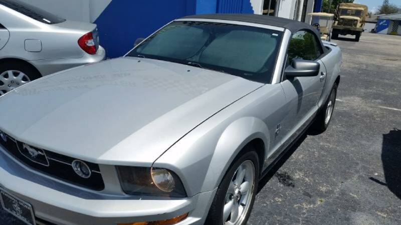 2007 Ford Mustang for sale at AUTO CARE CENTER in West Palm Beach FL