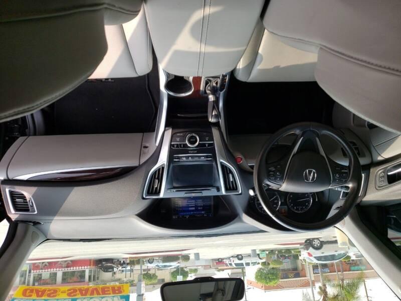 2016 Acura TLX 4dr Sedan - Montebello CA