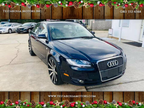 2007 Audi A4 for sale at Testarossa Motors Inc. in League City TX