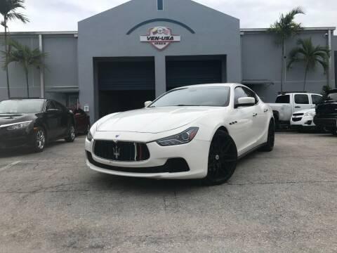 2015 Maserati Ghibli for sale at Ven-Usa Autosales Inc in Miami FL