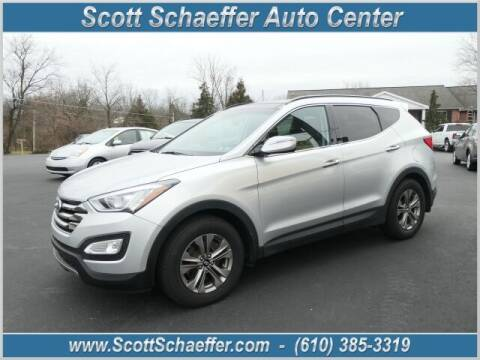 2015 Hyundai Santa Fe Sport for sale at Scott Schaeffer Auto Center in Birdsboro PA