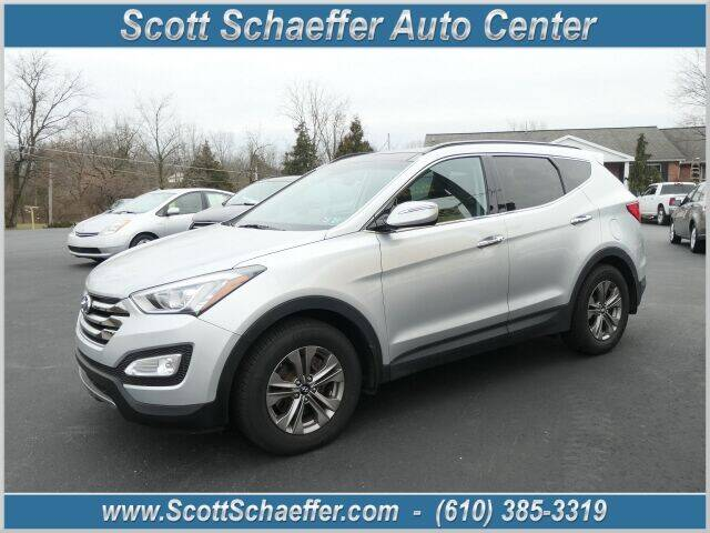 2015 Hyundai Santa Fe Sport for sale at Scott Schaeffer Auto Center in Birdsboro PA