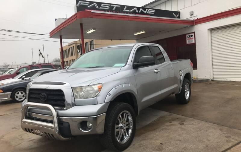 2009 Toyota Tundra for sale at FAST LANE AUTO SALES in San Antonio TX