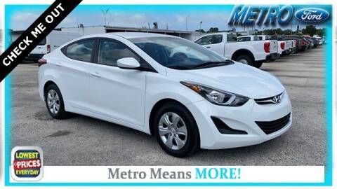2016 Hyundai Elantra for sale at Your First Vehicle in Miami FL