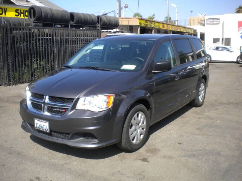 2016 Dodge Grand Caravan for sale at AUTO SELLERS INC in San Diego CA