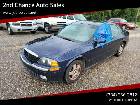 2001 Lincoln LS for sale at 2nd Chance Auto Sales in Montgomery AL