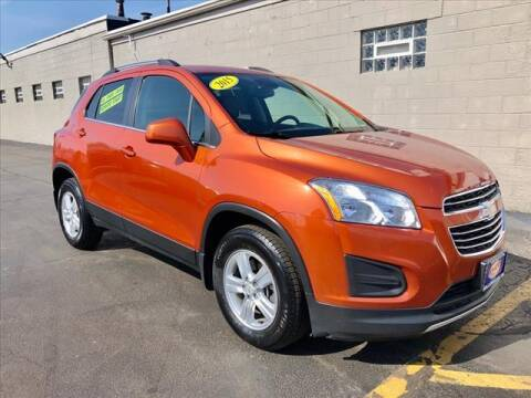 2015 Chevrolet Trax for sale at Richardson Sales & Service in Highland IN