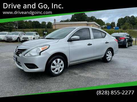 2016 Nissan Versa for sale at Drive and Go, Inc. in Hickory NC