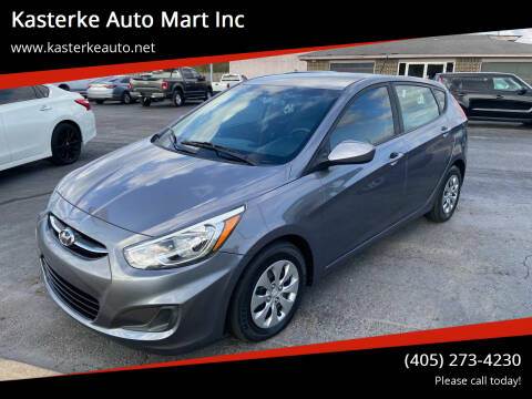 2016 Hyundai Accent for sale at Kasterke Auto Mart Inc in Shawnee OK