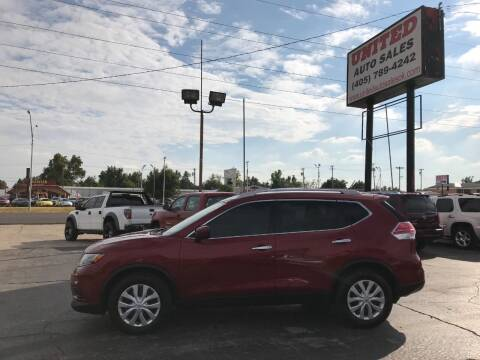 2016 Nissan Rogue for sale at United Auto Sales in Oklahoma City OK