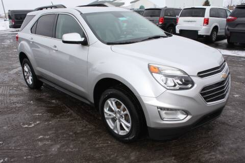 2016 Chevrolet Equinox for sale at LJ Motors in Jackson MI