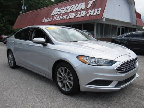 2017 Ford Fusion for sale at Discount Auto Sales in Pell City AL