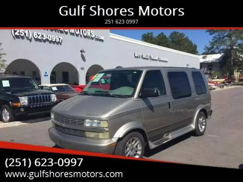 2005 Chevrolet Astro for sale at Gulf Shores Motors in Gulf Shores AL