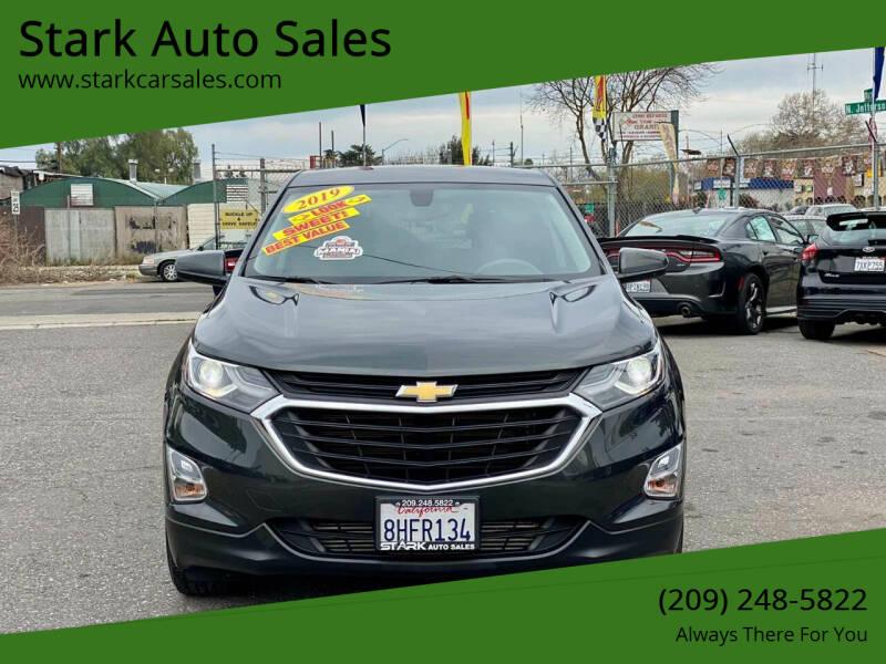 2019 Chevrolet Equinox for sale at Stark Auto Sales in Modesto CA