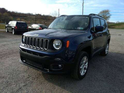 2017 Jeep Renegade for sale at G & H Automotive in Mount Pleasant PA