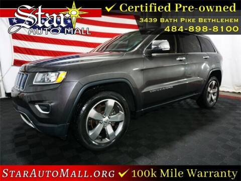 2015 Jeep Grand Cherokee for sale at STAR AUTO MALL 512 in Bethlehem PA