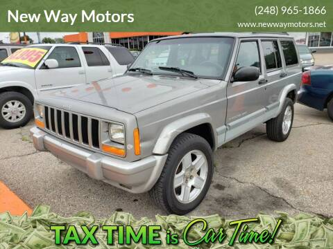 2001 Jeep Cherokee for sale at New Way Motors in Ferndale MI