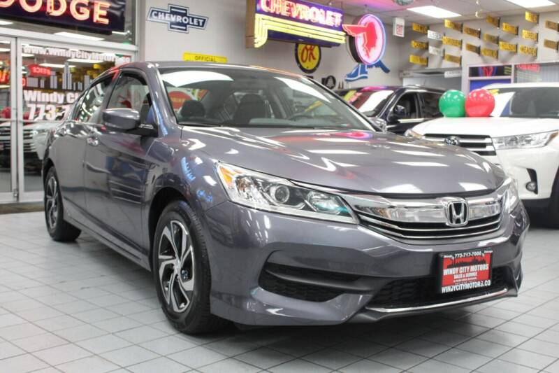 2016 Honda Accord for sale at Windy City Motors in Chicago IL