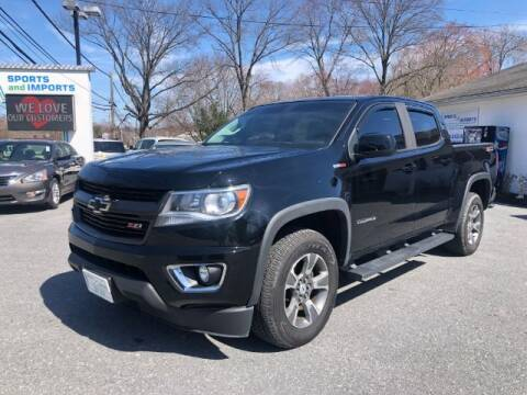 2017 Chevrolet Colorado for sale at Sports & Imports in Pasadena MD