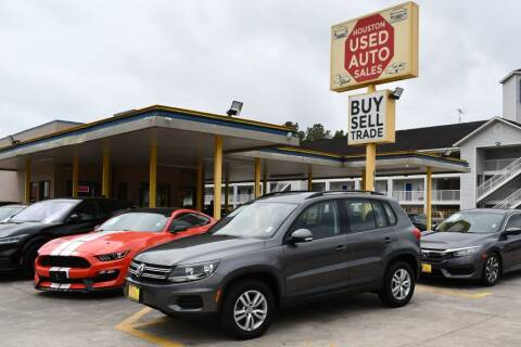 2016 Volkswagen Tiguan for sale at Houston Used Auto Sales in Houston TX
