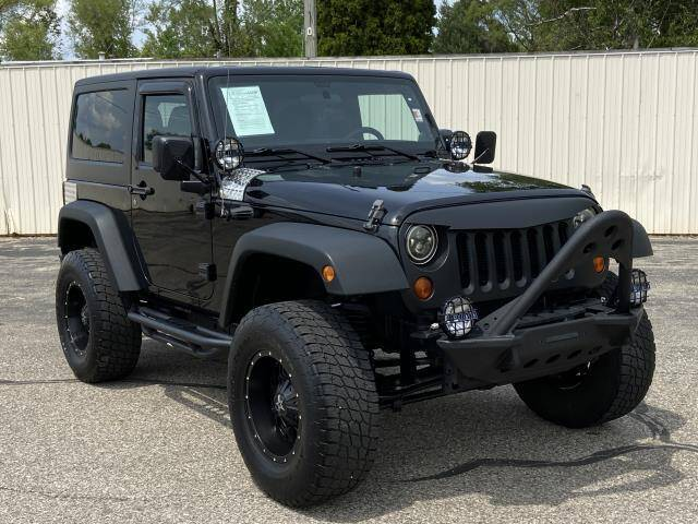 2012 Jeep Wrangler for sale at Miller Auto Sales in Saint Louis MI
