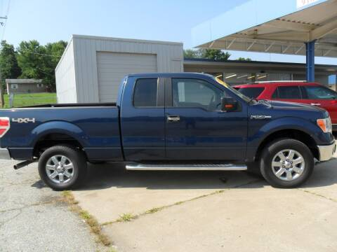2013 Ford F-150 for sale at C MOORE CARS in Grove OK